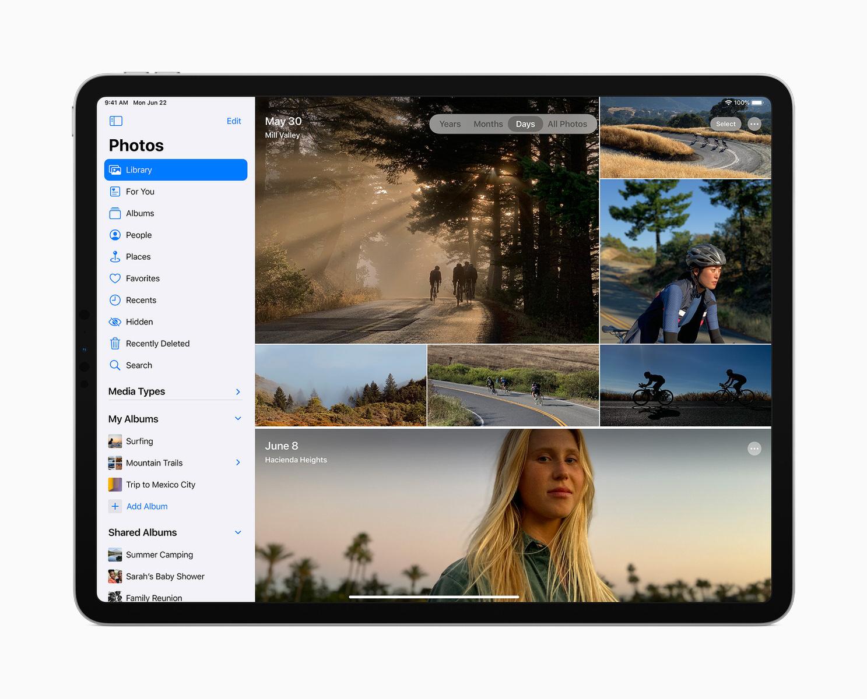La barra laterale ridisegnata in iPadOS 14
