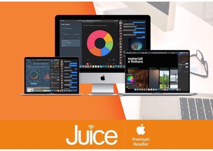 Con Juice Noleggio Operativo il Mac è sempre nuovo e non si compra