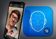 I volti dei personaggi di Unreal Engine prendono vita con la fotocamera TrueDepth di iPhone