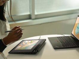 ThinkVision M14t, nuovo monitor portatile da Lenovo