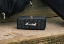 Marshall Emberton, lo speaker impermeabile e compatto che suona per 20 ore