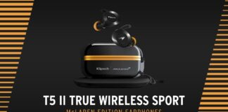 Ecco gli auricolari Klipsch True Wireless Sport ispirati al team McLaren