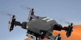Mini Drone per filmati in 4K: ispirato al Mavic Air, in offerta con 3 batterie e ricambi