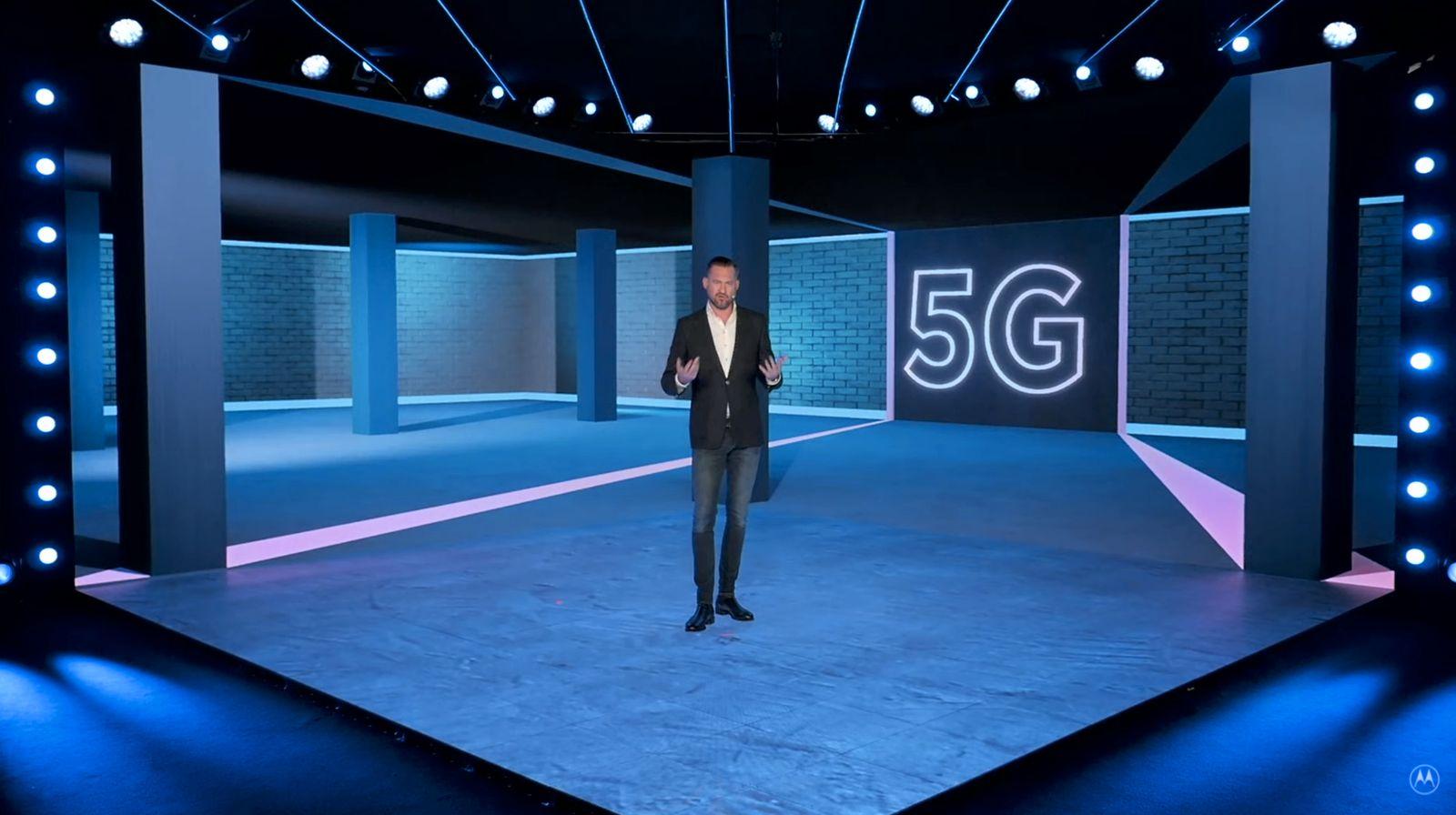Motorola presenta moto G 5G plus e ingrana la nuova connettività e due giorni di autonomia