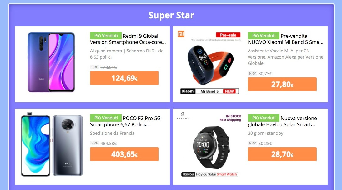 Offerte Xiaomi per i Saldi di Metà Anno 2020 di Gearbest: ecco tutti gli sconti