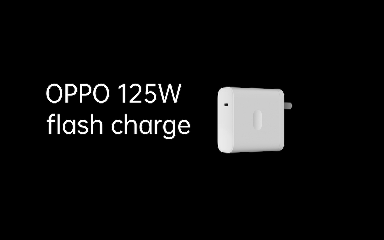 OPPO presenta la sua super ricarica da 125W