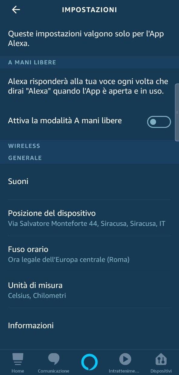 L'app Alexa consentirà adesso di invocare l'assistente senza toccare lo smartphone