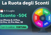 La Ruota degli Sconti di TrenDevice si è fermata su 50€ ! Solo per 48 ore e solo su un numero limitato di prodotti.