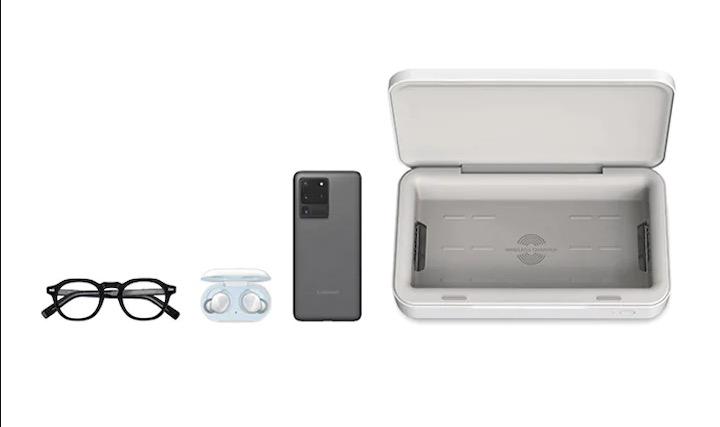 Ecco il carica batteria venduto da Samsung che sterilizza lo smartphone