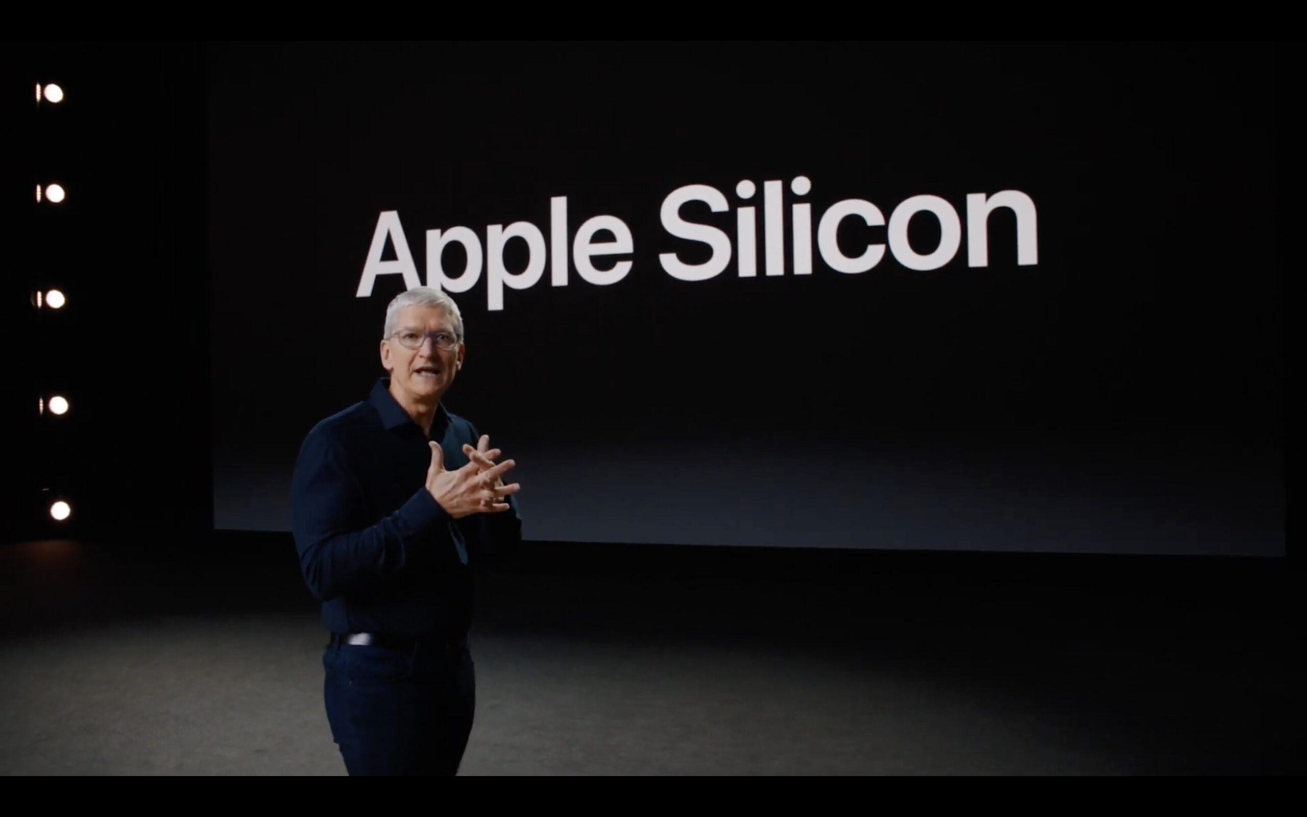 tim cook annuncia il passaggio a processori Apple