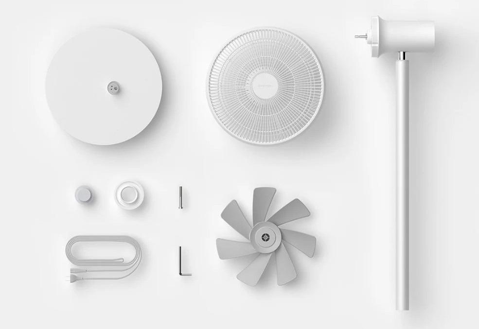 Ventilatore smart Xiaomi Smartmi: solo 70 euro per combatter afa e caldo
