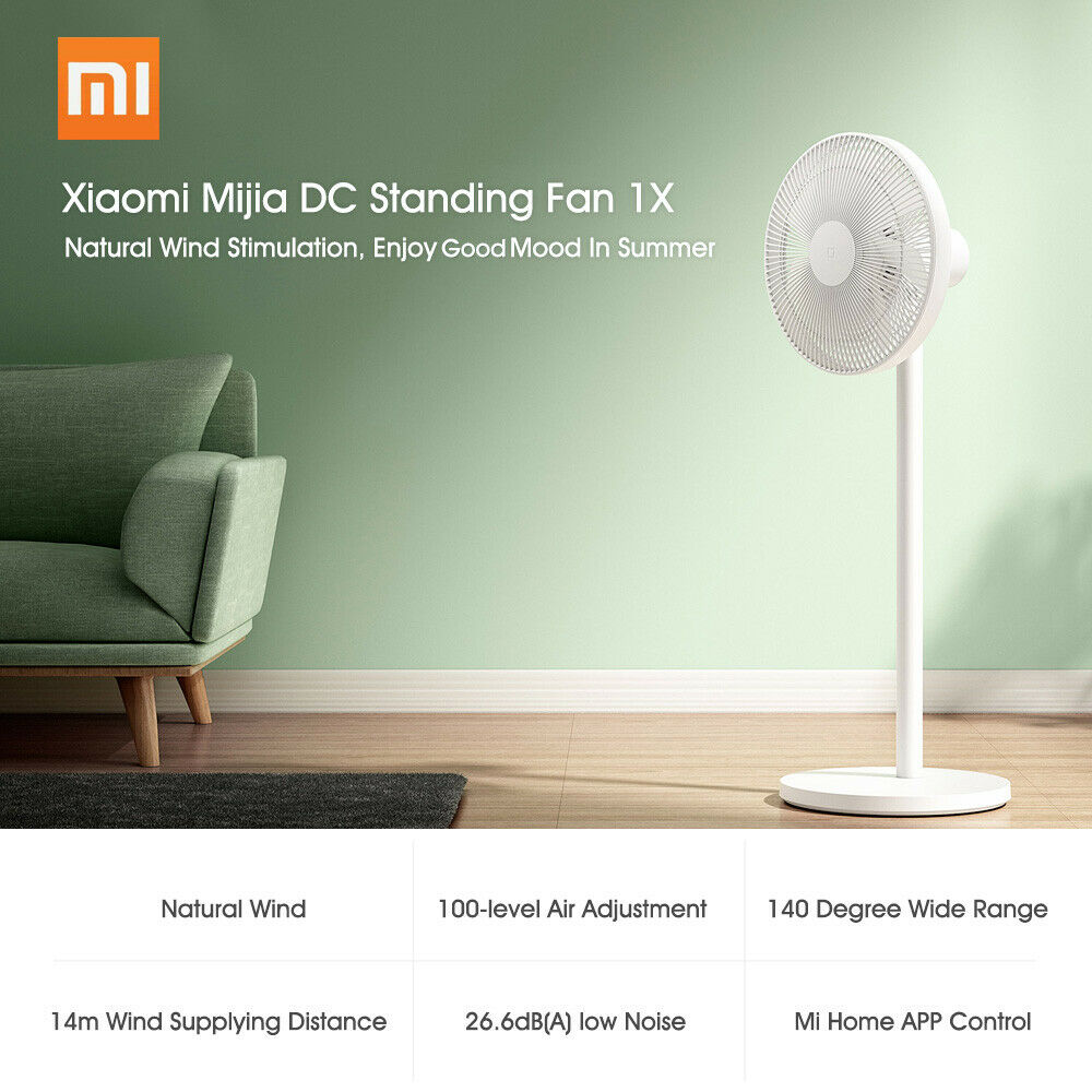 Addio afa e caldo con il ventilatore Xiaomi Mijia 1X che simula il vento naturale