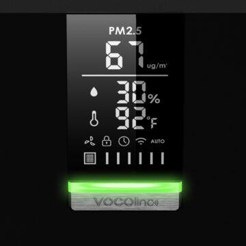VOCOlinc VAP1: arriva in Italia il purificatore d'aria smart con Homekit, Alexa e Google