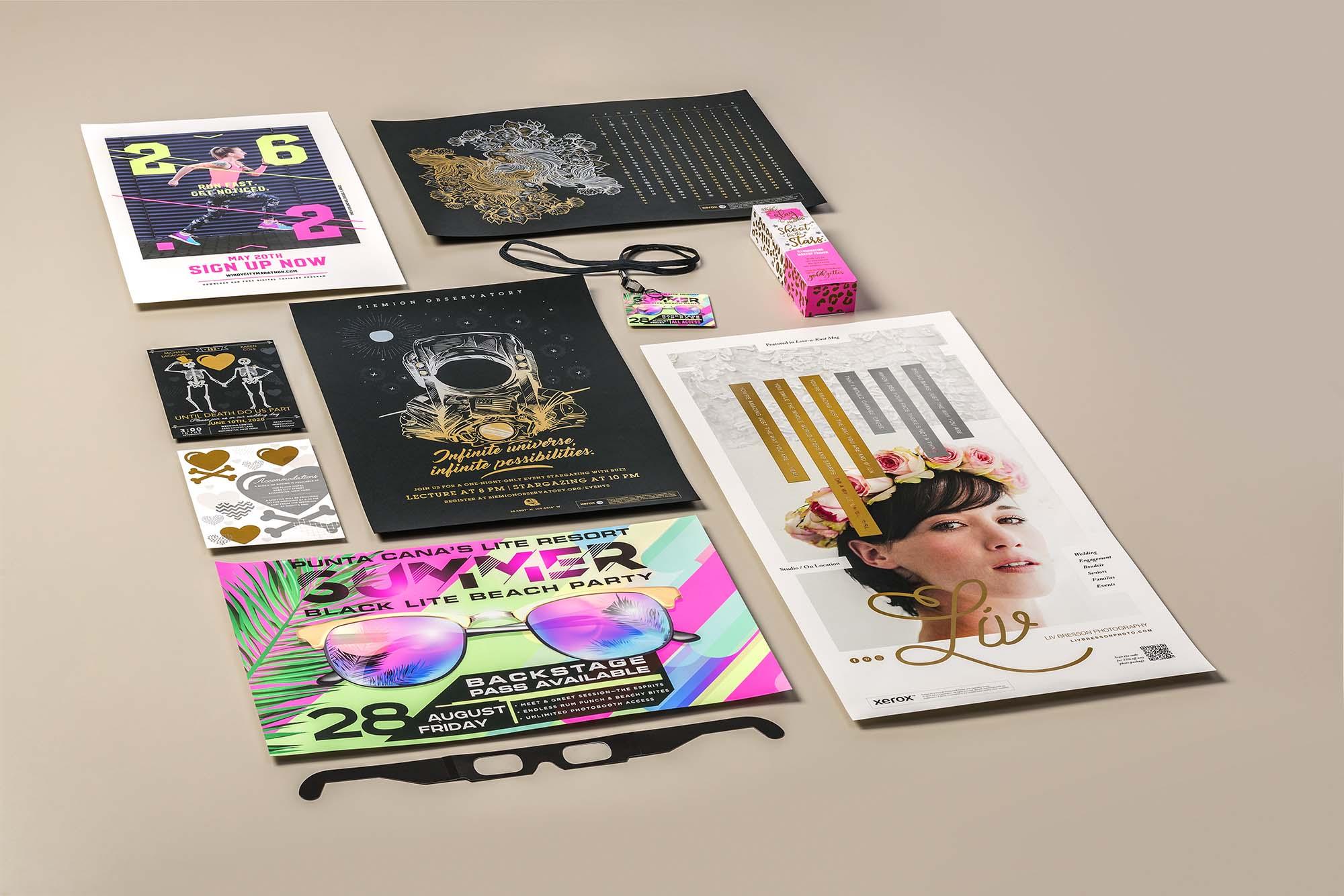 Xerox Adaptive CMYK+ Kit for Xerox Versant, un kit per il mercato della stampa che espande la gamma cromatica a oltre un milione di colori