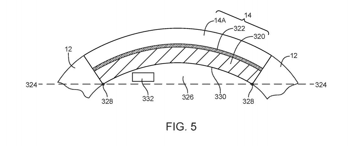 Ancora un brevetto Apple sull'iPhone curvo con display avvolgenti