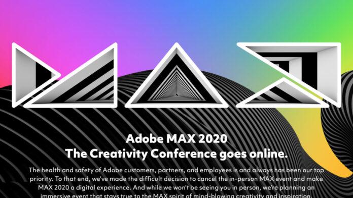 Adobe MAX 2020 apre le registrazioni, gratis per tutti