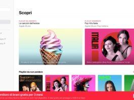 Nella versione web di Apple Music (beta) è arrivata la scheda Ascolta ora