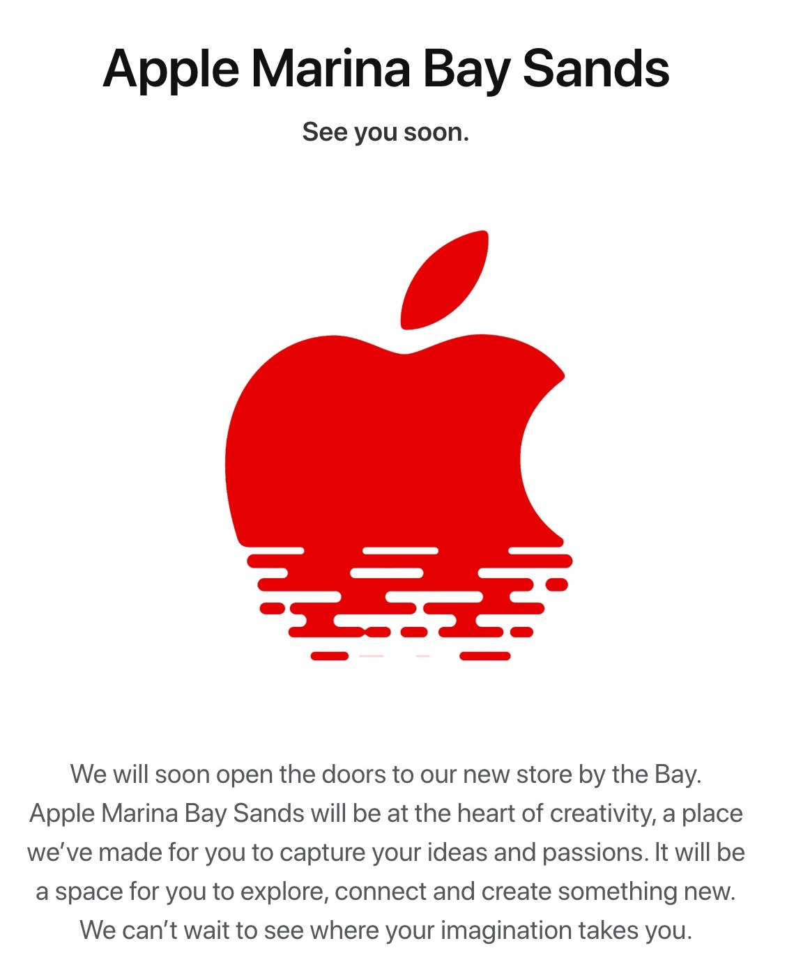Apple sta per aprire il primo Apple Store galleggiante a Singapore