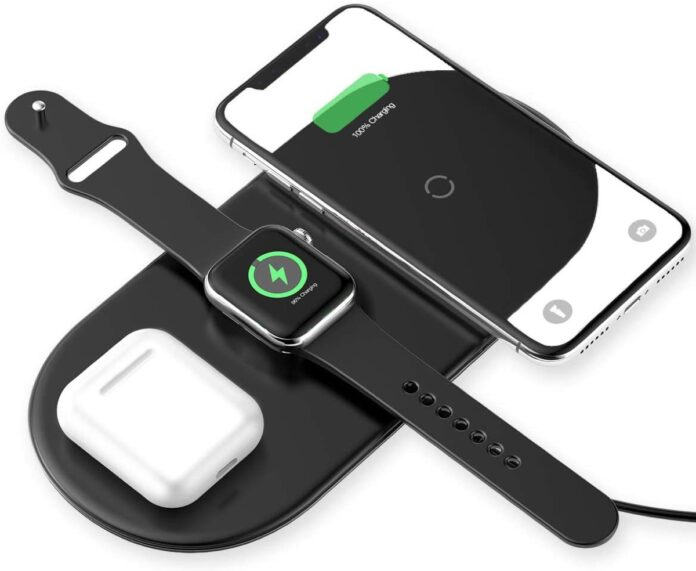 Chie ha detto AirPower? ecco Baseus 3 in 1, caricatore wireless per iPhone, Apple Watch e AirPods