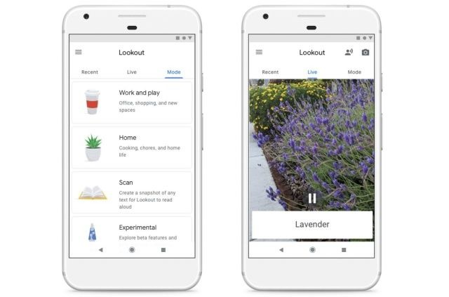 L'app di Google per i non vedenti aggiunge scansioni di cibo e documenti