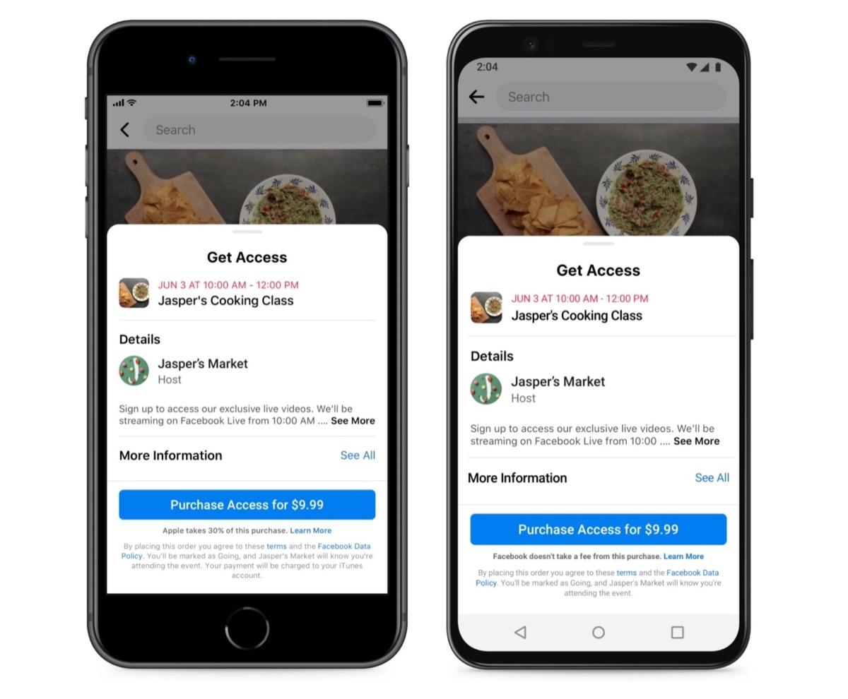 Apple nel mirino, anche Facebook attacca: «Danneggia le piccole imprese»