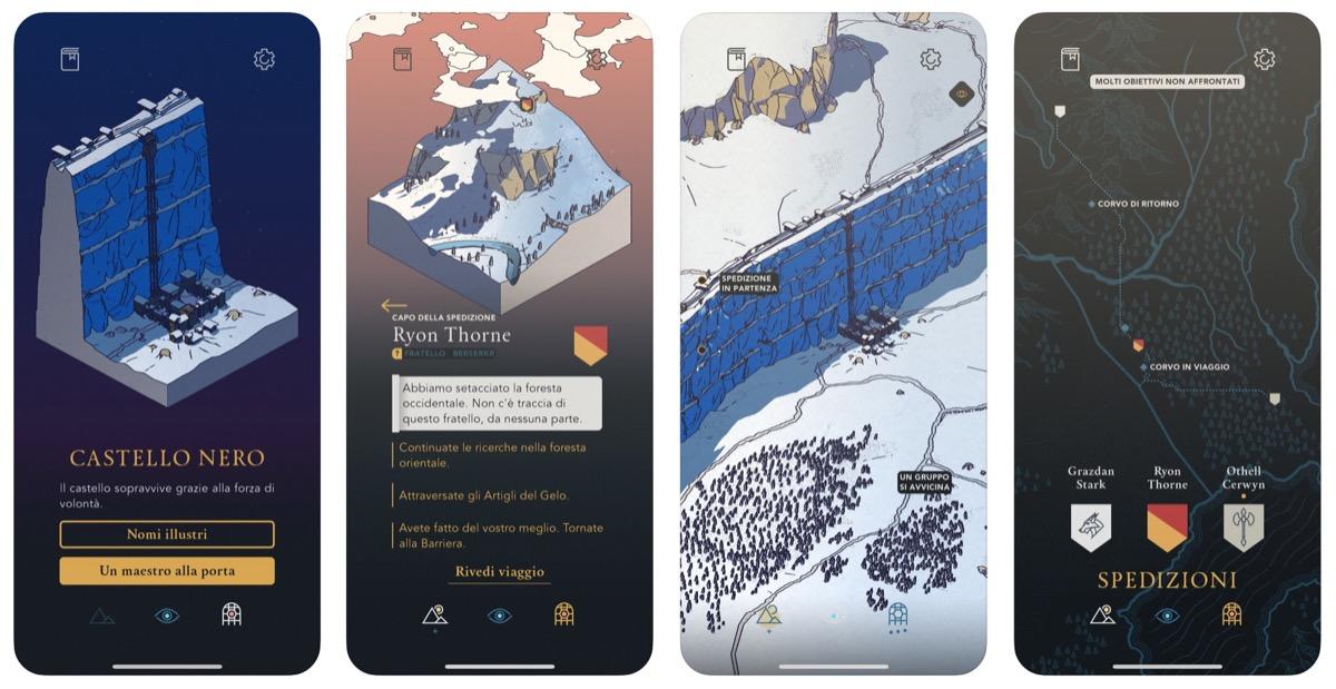 Game of Thrones: Tale of Crows è un nuovo gioco narrativo-inattivo per Apple Arcade