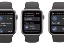 google maps in arrivo l'app per apple watch