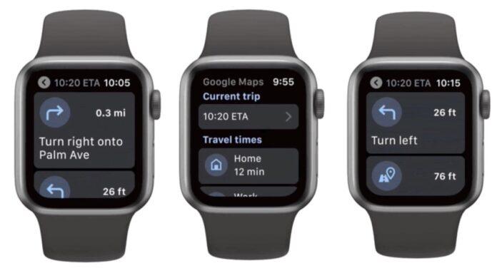 google maps in arrivo l'app per apple watch