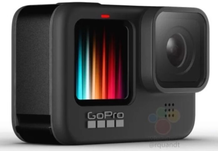 GoPro Hero 9 Black potrebbe avere lo schermo frontale a colori per i video-selfie