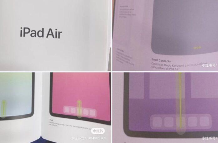 iPad Air 4, nuovo design svelato dal presunto manuale d'istruzioni