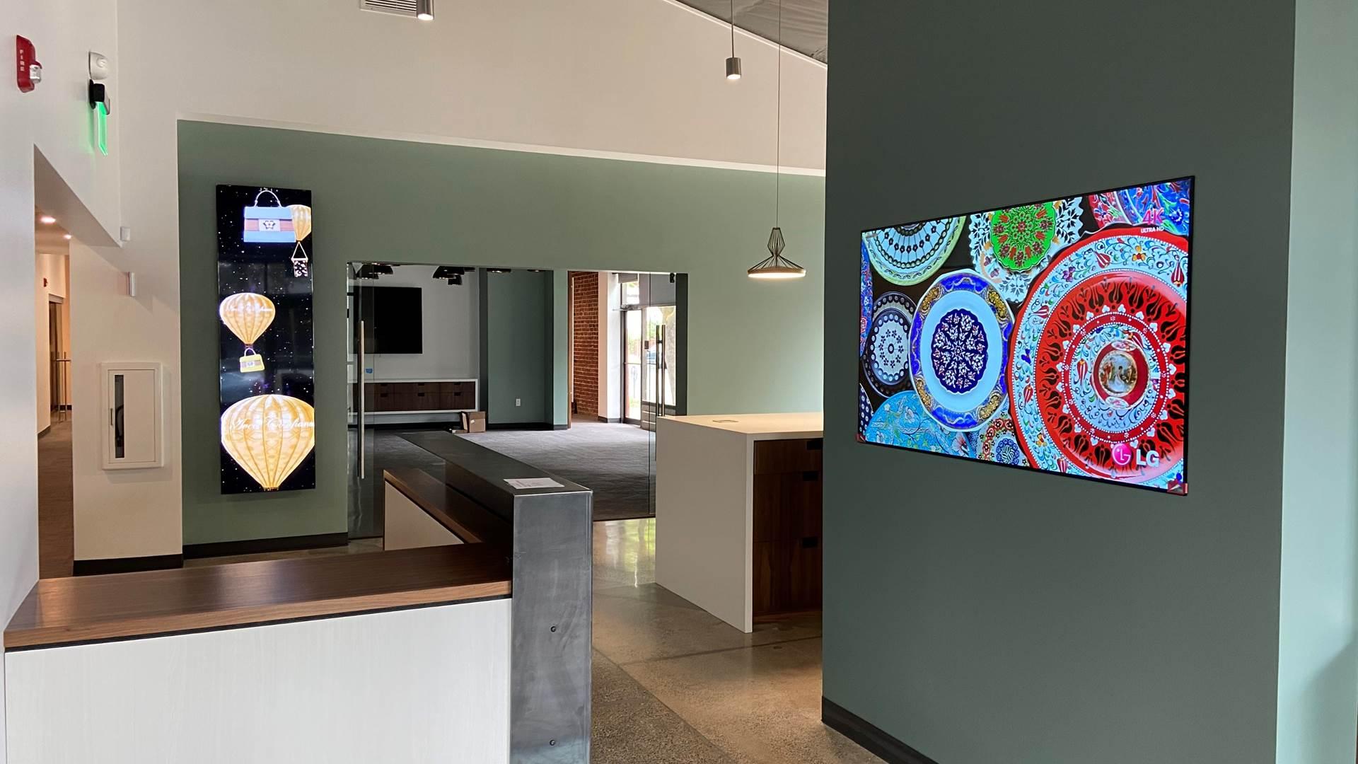 LG premiata dall'American Institute of Architects per l'innovazione dei suoi display professionali
