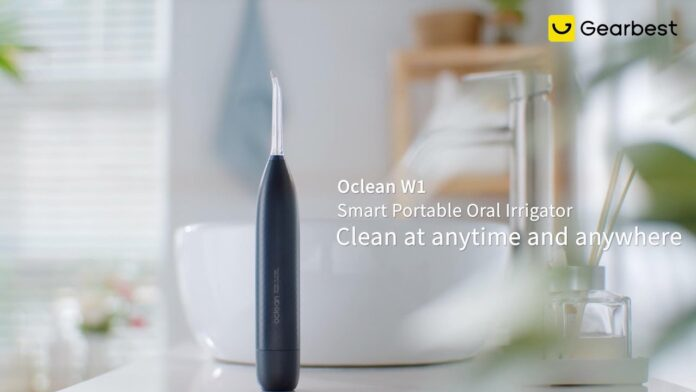 Oclean W1, l'idropulsore dentale per tutti è in offerta lampo a 55,89 euro
