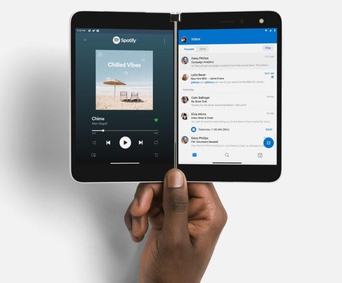 Microsoft Surface Duo, l'Android dual screen sfiderà gli iPhone 12