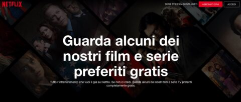 Netflix offre gratis per tutti una selezione di serie tv e film