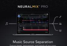 NeuralMix PRO su Mac isola voce, parte ritmica armomica delle canzoni per loop, remix e karaoke