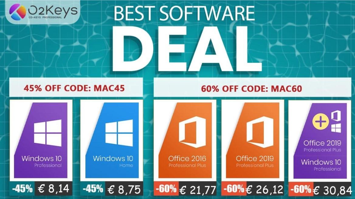 Solo 8 € per Windows 10: ecco il Back To School perfetto su O2keys.com