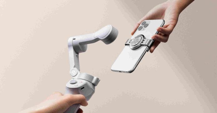 Ecco Osmo Mobile 4 di DJI, da oggi solo OM4 con magnete ad aggancio rapido