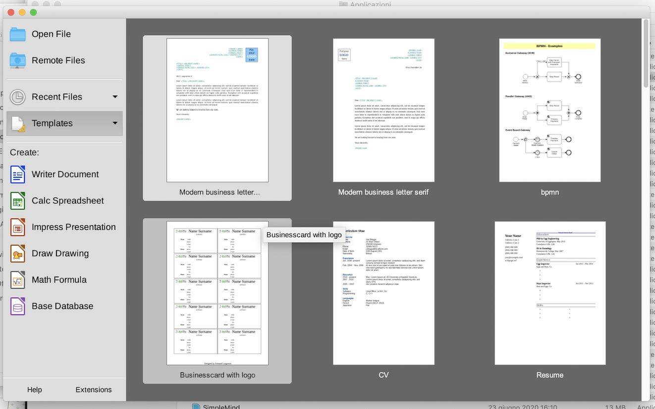 LibreOffice 7.0: la suite per ufficio open source per Mac, Windows, Linux porta nuove funzionalità