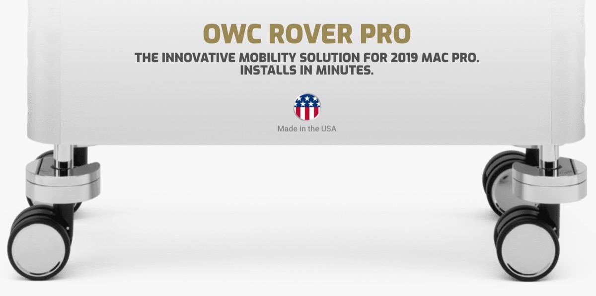 OWC Rover Pro, l'alternativa quasi economica alle ruote Apple per Mac Pro