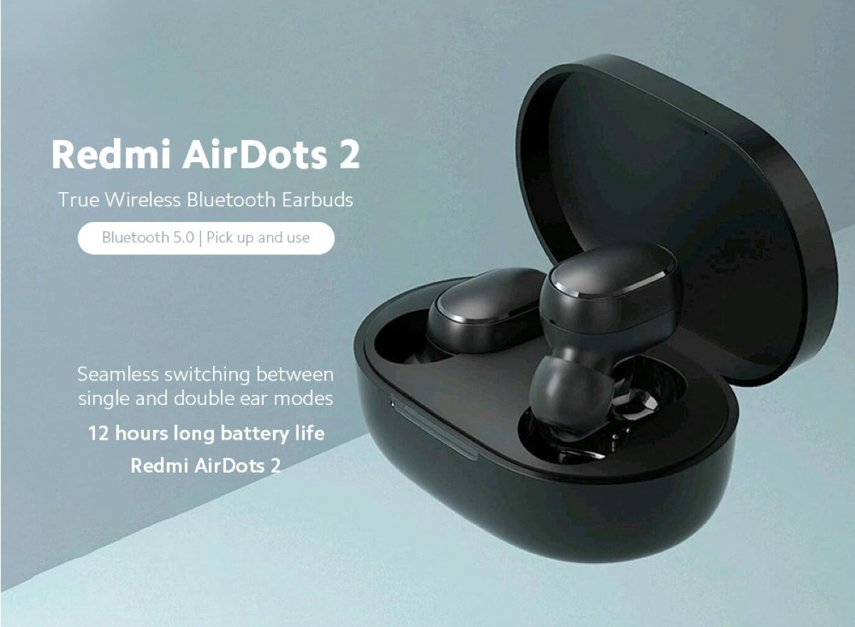Solo 18 € le nuove Xiaomi Redmi Airdots 2, le cuffie wireless di seconda generazione