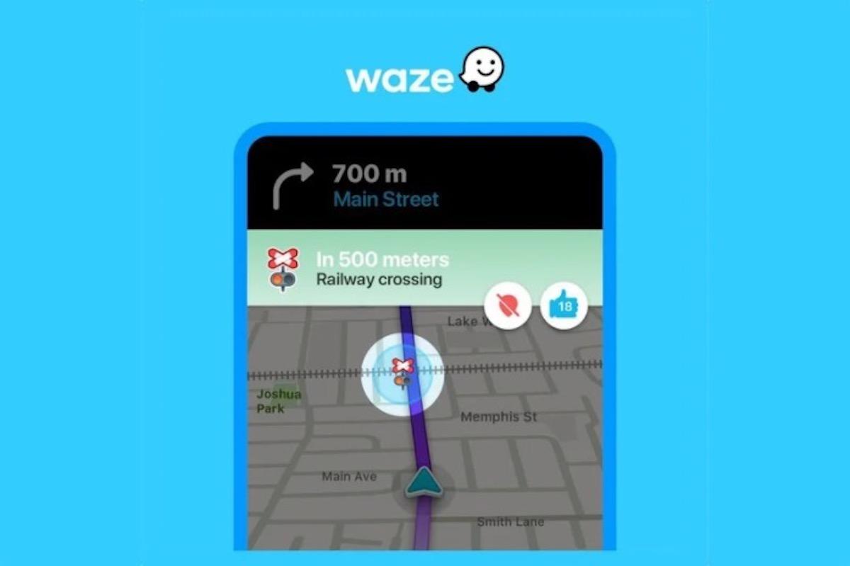 Waze lancia avvisi di attraversamento ferroviario in diversi paesi