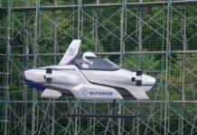 Skydrive, la Toyota volante testata in pubblico