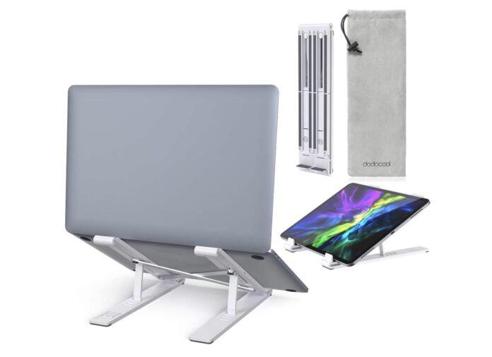 Supporto Dodocool per MacBook e portatili: entra nello zaino e salva dal caldo