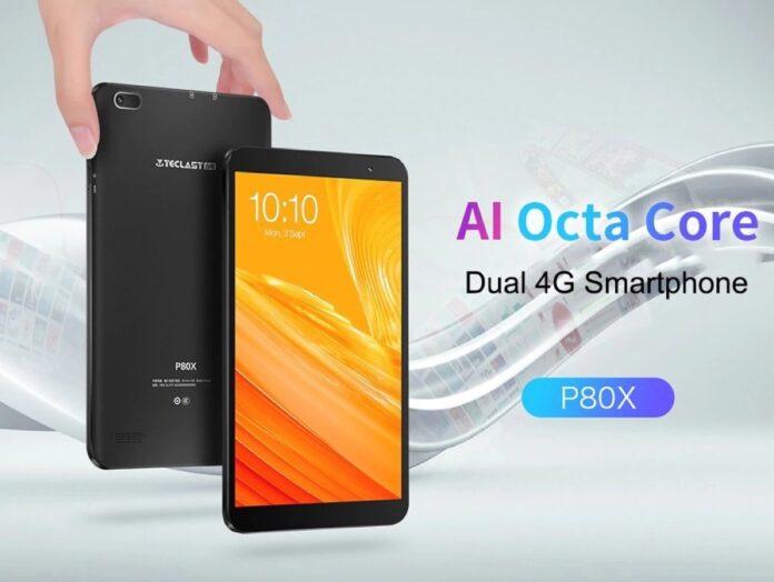 Solo 74 € il tablet LTE Teclast P80X, con schermo da 8″ e 32 GB di memoria