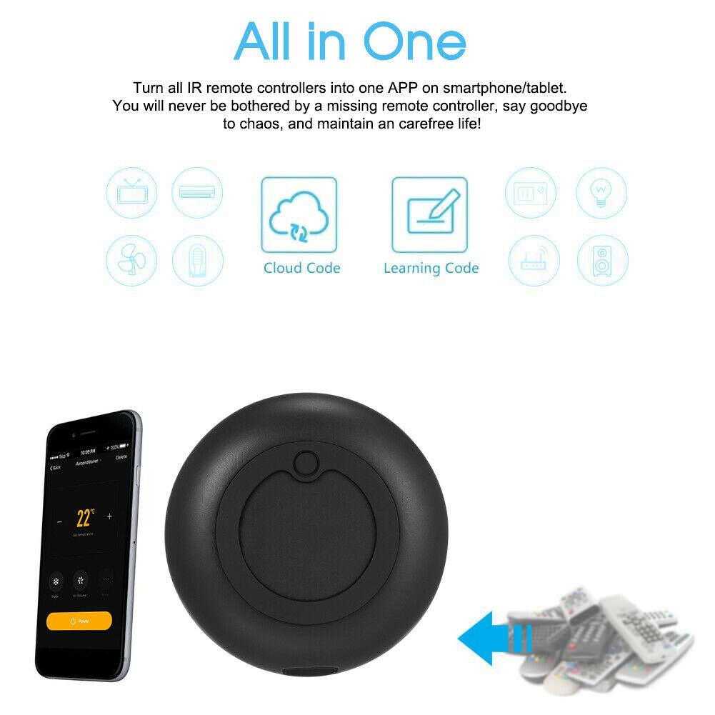 Solo 6 € il telecomando Wi-Fi IR per una casa più smart, compatibile con Alexa e Google Home
