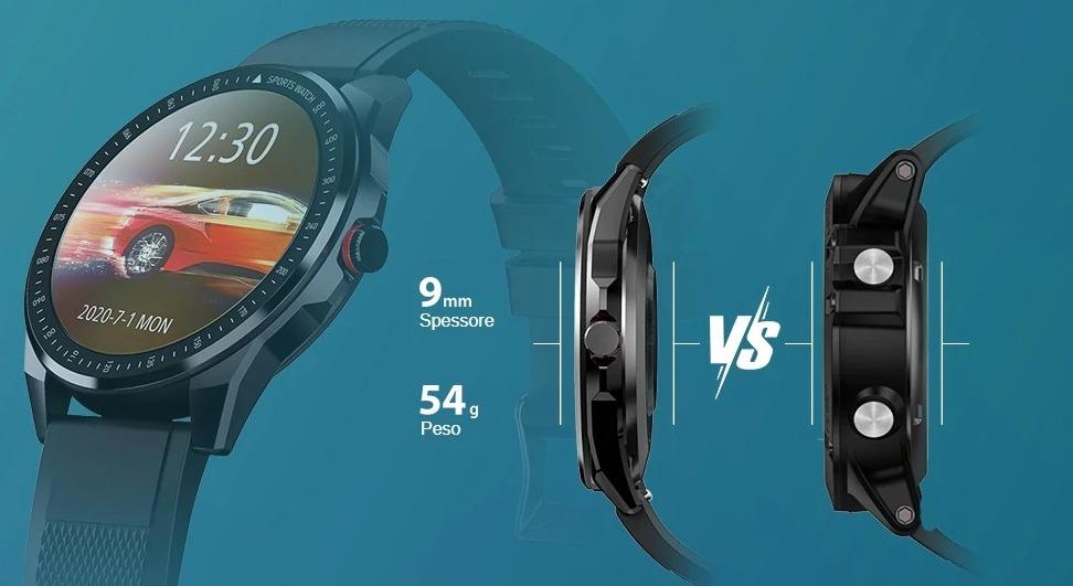 TICWRIS RS lo smartwatch sportivo che traccia 31 sport e dura fino a 50 giorni a soli 28 €