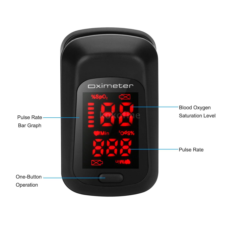 Pulsossimetro digitale a LED in super offerta su eBay a 10,99 euro