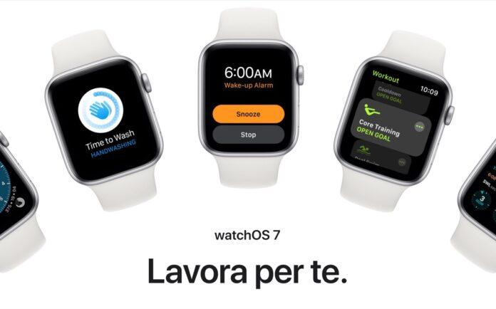 Apple pubblica la prima beta pubblica di watchOS 7