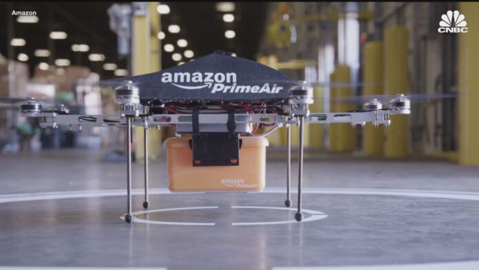 In USA Amazon Prime Air può iniziare le consegne con i droni