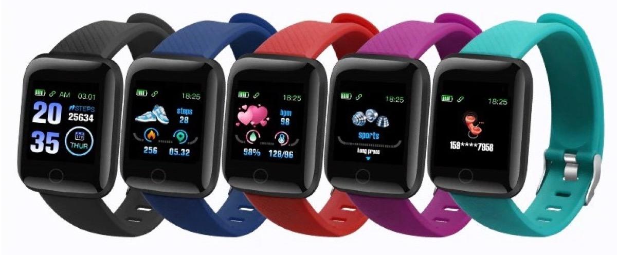 116 Plus, lo smartwatch che misura anche la pressione a meno di 7 €